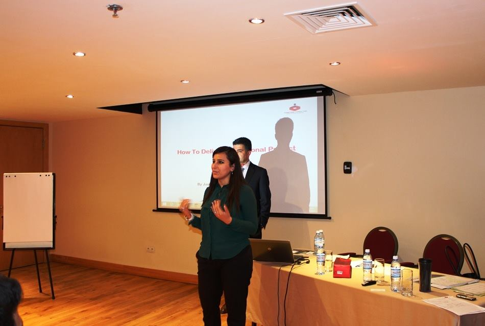 News project and portfolio management seminar at the for American chambre of commerce